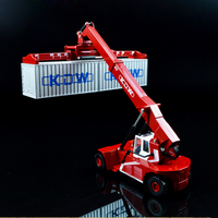 1:50 Alloy Slide Car Toy Models Containers Special Transport Vehicles Container Front Lifting Cars Model Children Favorite Kids