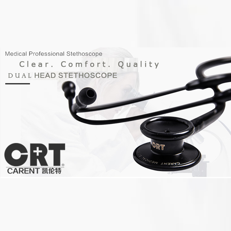 high quality Swiss Carent CRT868 double dual-use head Medical stethoscope 8 colors doctor health care hospital free shipping pro single head medical stethoscope emt doctor nurse vet student health blood stethoscope free shipping
