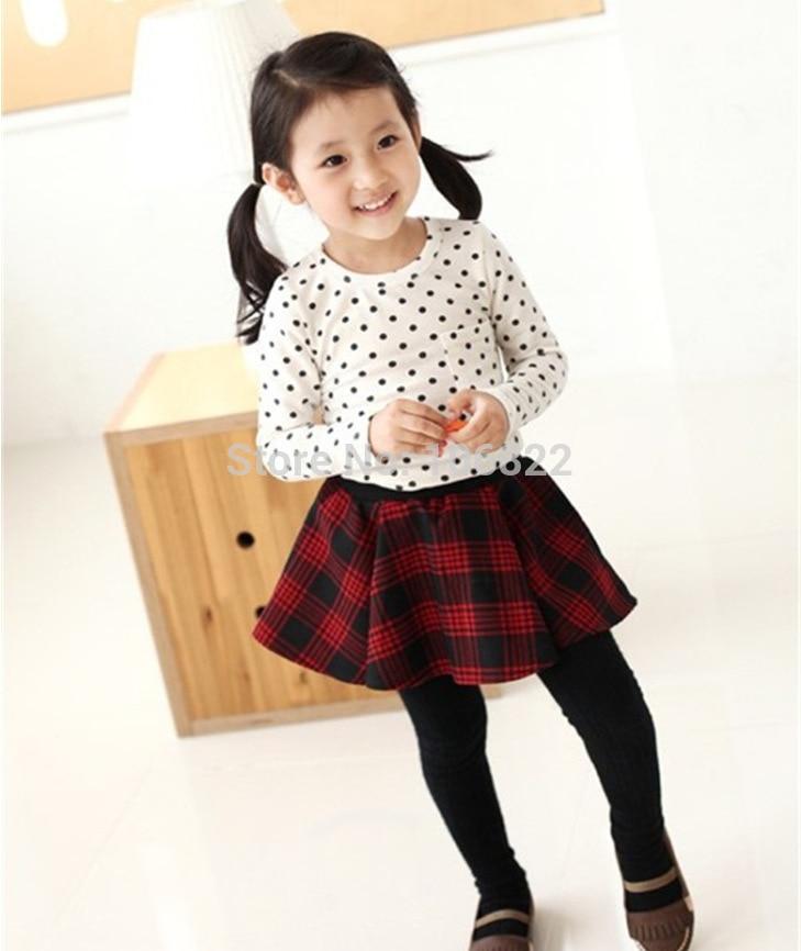 Baby Girls Polka Dot Tops Toddler Long Sleeve Blouse Casual Cotton Tops Shirts
