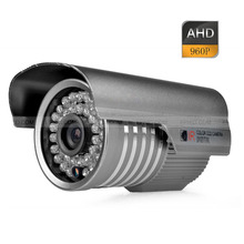 HD-AHD 1.3MP 960P 3.6mm Lens Outdoor IR CUT CCTV Security Camera w/ Bracket
