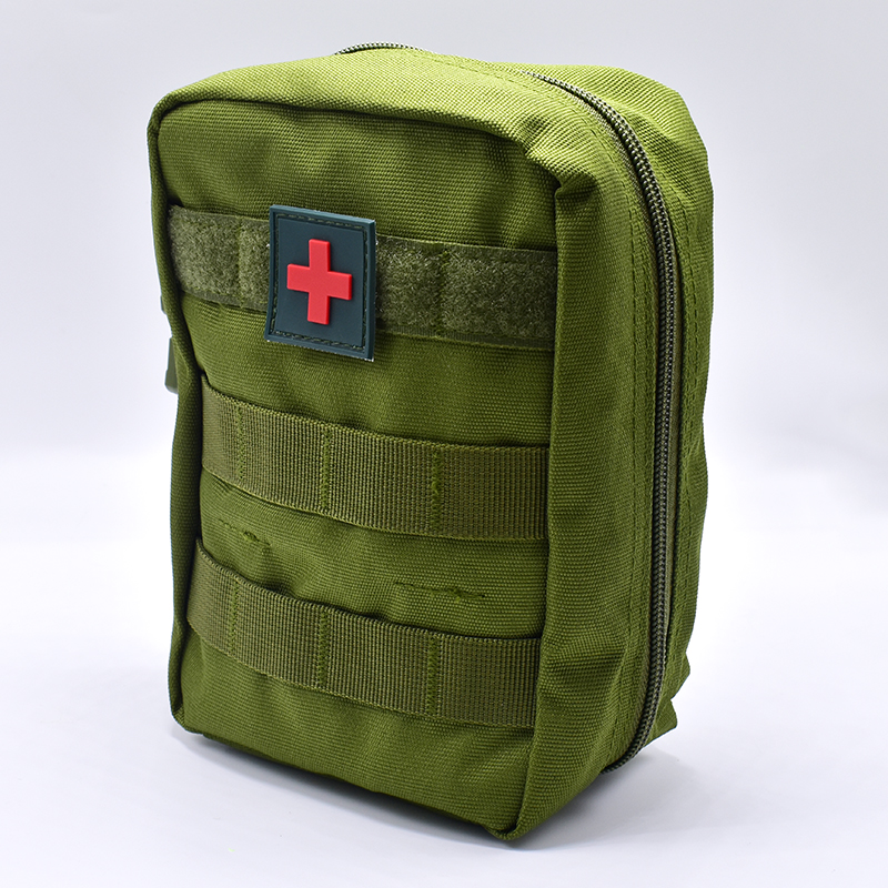 Mini Pouch Travel Green First Aid Kit Survie Portable Survival Tactical Emergency First Aid Bag Military Kit Medical Quick Pack