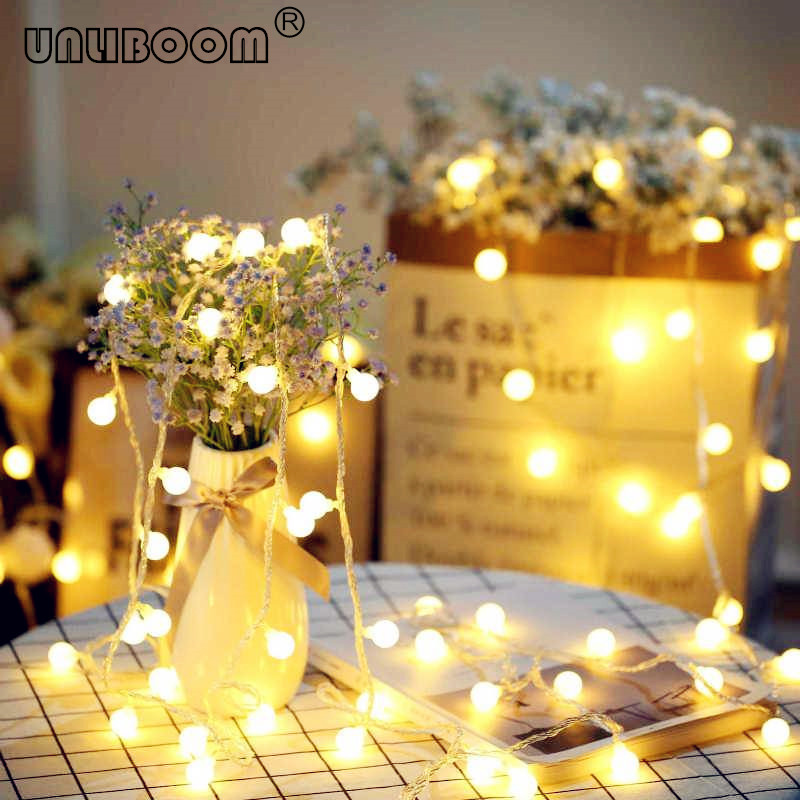 10 M 100 Led String Faiy Girlande Ball Licht String Fur Weihnachten