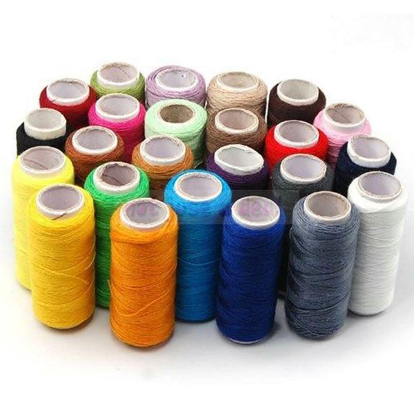 Hot Durable Sewing Thread Cotton for Hand for Machine 24pcs/Set Multi Colors