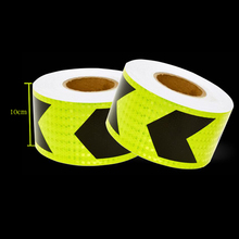 10cm X 3m High quality Car Accessories Reflective car Stickers Adhesive Tape For Safety