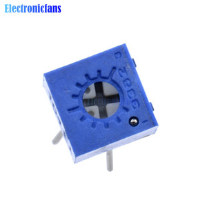 10Pcs 3362P-104 Multiturn Trimmer Potentiometer 100K ohm High Precision 3362 Variable Resistor