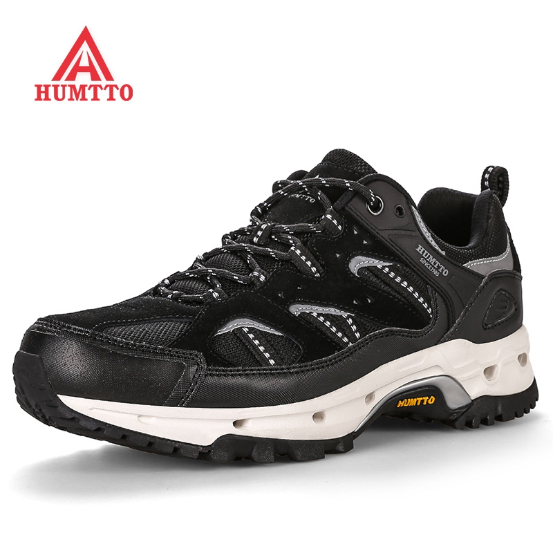 Cushioning Genuine Leather Sport Running Shoes Autumn Winter Breathable Man Sneakers Profession Lace up Outdoor Jogging