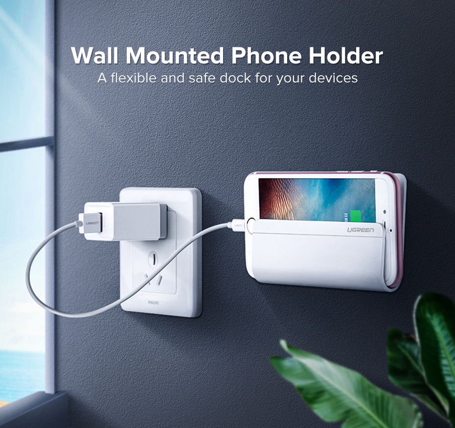 Wall mount Mobile Phone Holder