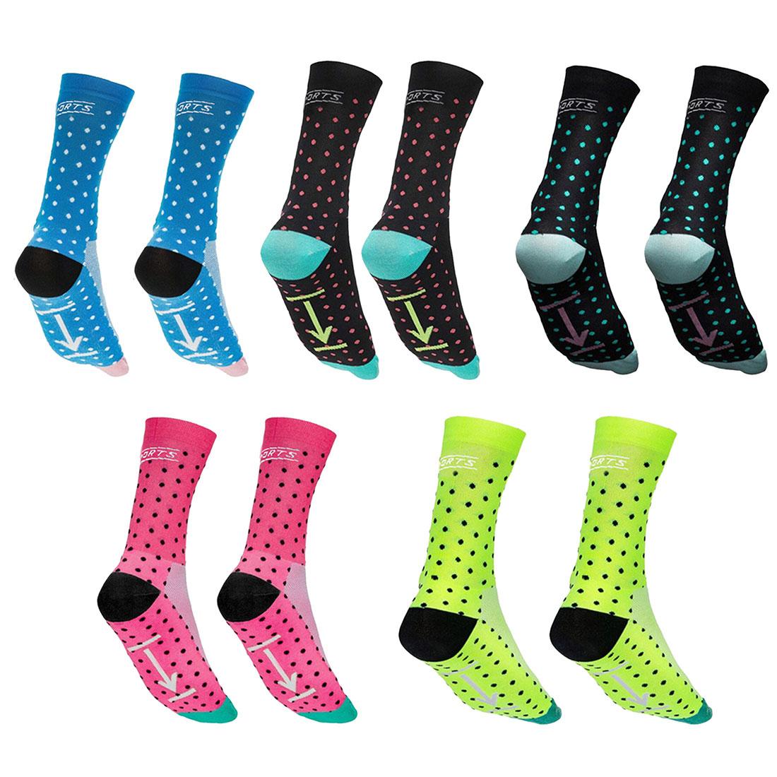 New Professional Brand Exercise Socks Breathable Road Bicycle Socks  Sports Long Breathable Sock