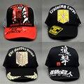 Нападение На Titan Cap Японского Аниме Шляпы Водителя Грузовика Сетки Бейсболки Snapback Мужчины Женщины