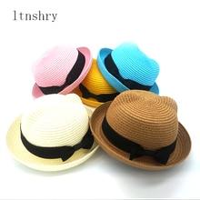 Baby hats cute Cartoon child Korean cat baseball caps Spring new summer boy girl sun Hats beanies kids photography props