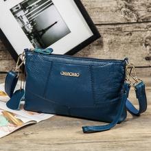 Vintage Genuine Leather Women Handbags Designer Fashion Casual Messenger Bags small Shoulder Bag Female cowhide bolsa feminina