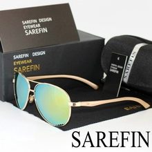 SAREFIN 2017 Aluminum Magnesium Polarized Men Driver  Sun glasses Male Fishing Female Eyewear Accessories Sunglasses