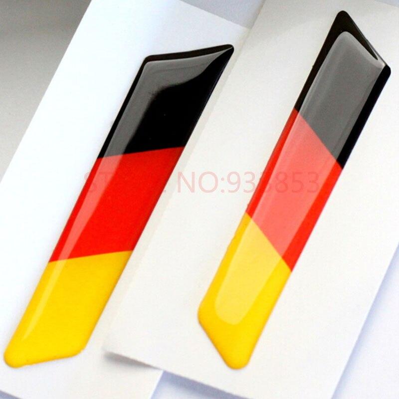 Bandera alemana para VW Golf 6 Jetta Octavia decorativo llave ...