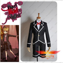 Vocaloid Kagamine Bad End Night Len Cosplay Costume Custom Made Any Size Top Jacket Shirt Men Fashion Shorts Outfit with Hat(China)