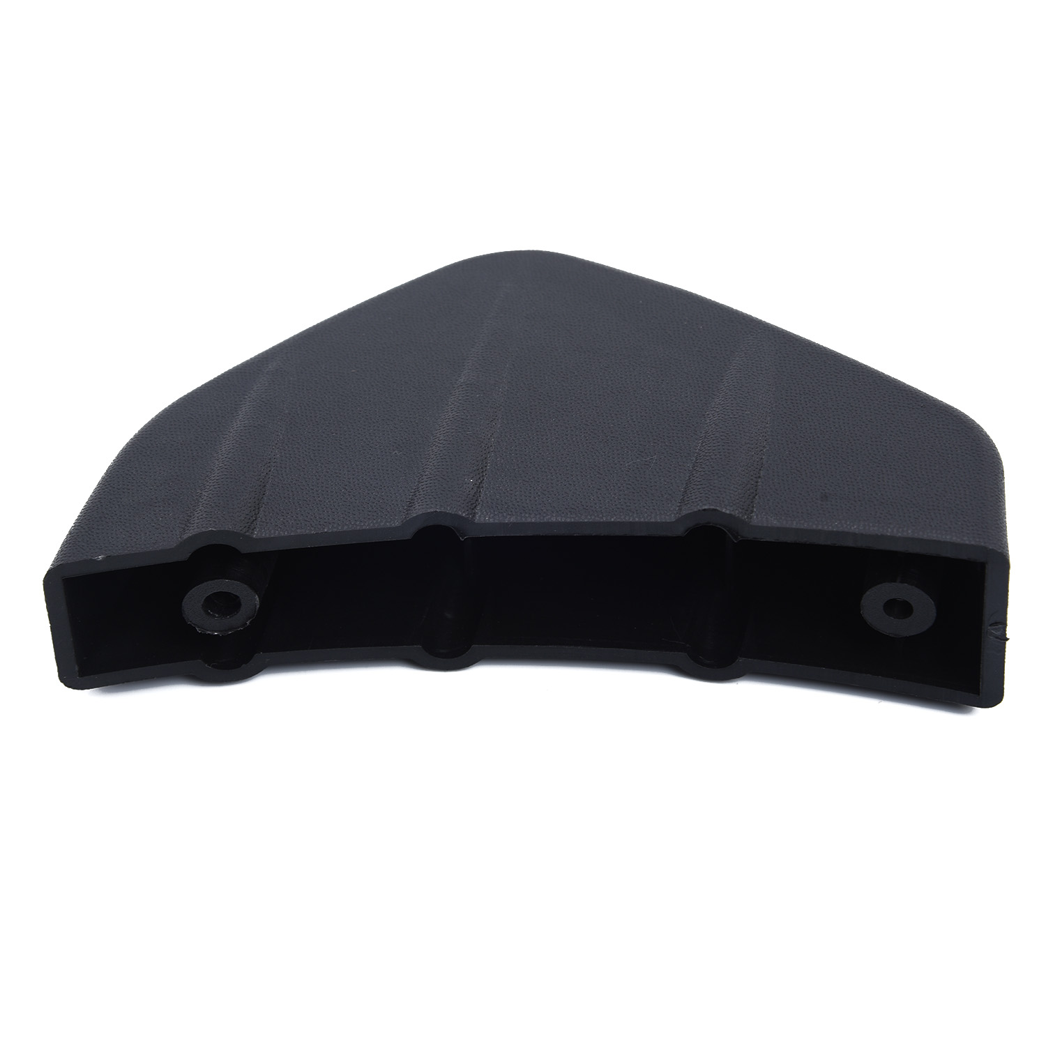 4pcs Car SUV Rear Bumper Diffuser Molding Shark Fin Spoiler Protector Cover PVC Black Car Styling Universal in Bumpers from Automobiles Motorcycles