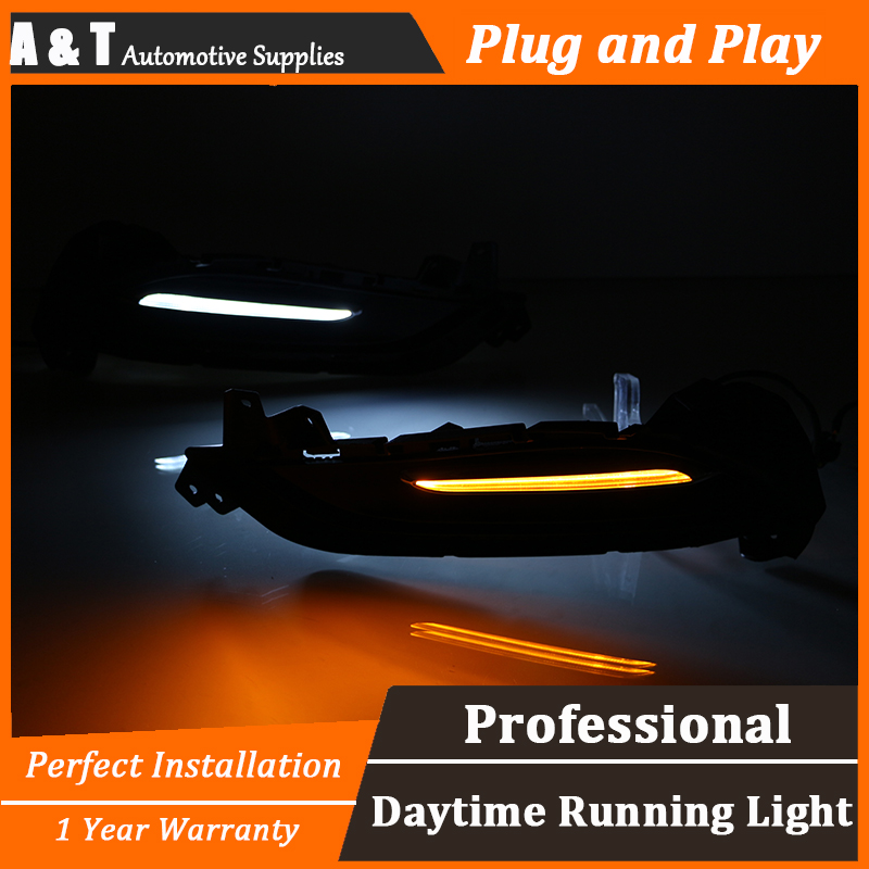 car styling For Buick Verano LED DRL For Buick Verano High brightness guide LED DRL led fog lamps led daytime running lights