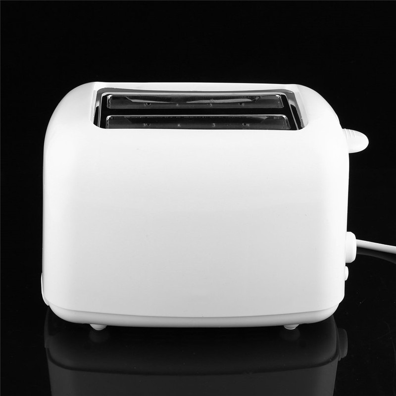 2 Slices Toaster Automatic Fast Heating Bread Toaster Household Breakfast Maker Eu Plug in Bread Makers from Home Appliances