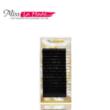 1Pc/lot,0.05 CD Curl 3D-9D Russian Volume Eyelash Extension Hot Selling Ultra Soft Individual False Eyelashes