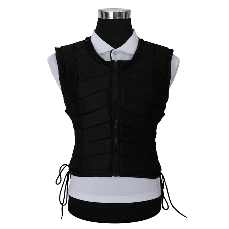 EVA Horse Riding Waistcoat Safe Equestrian Eventer Body Protection Vest Adult Men Riding Armor Protector Vest 2 Colors safety equestrian horse riding vest protective body protector black adult sportswear camping hiking accessories shock absorption