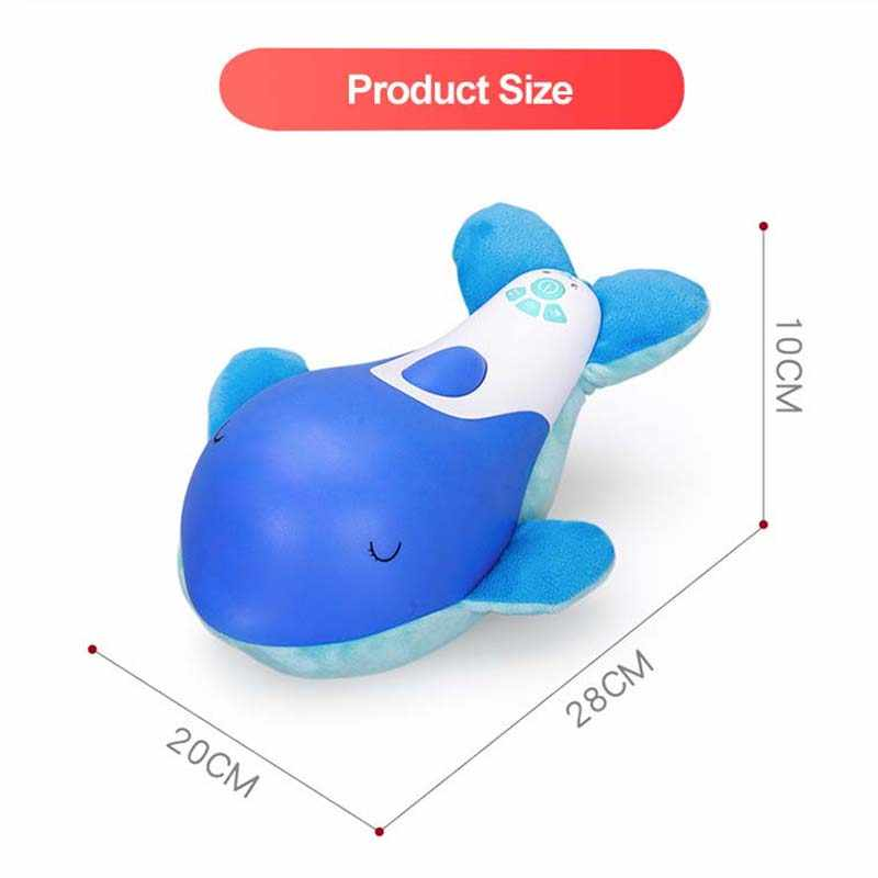 เด็กสัตว์ตุ๊กตา Plush ของเล่น Slumber Pacify Dolphin Soft Appease ตุ๊กตาเด็กทารกเด็กวัยหัดเดินทารกแรกเกิด Sleeping ของขวัญการศึกษา