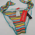 Baby Girl Swim diapers Swimsuit For 6-10T  With Small striped