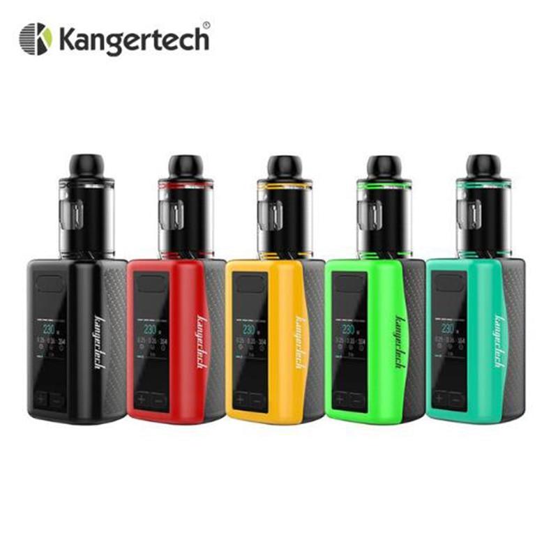 Original Kanger IKEN Kit 230W Built-in 5100mAh battery with 4ML Tank Electronic Cigarette Vape Kit IKEN Box MOD