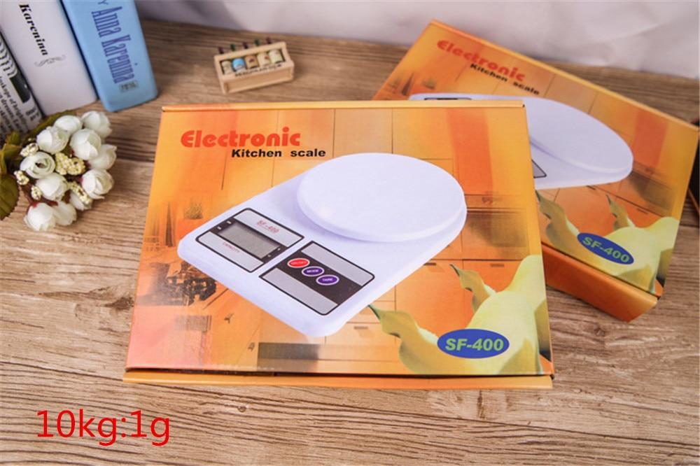 10 Kg 1g Digitale Küchenwaage Elektronische Nahrungsmittelskala Kochen Messwerkzeuge Touch Bottom Lcd Elektronische (sf-400) Reichhaltiges Angebot Und Schnelle Lieferung