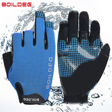 цена на BOODUN New Three Fingers Surfing Gloves Anti Skid Quick Dry Water Sports Gloves Unisex Fishing Gloves Boat Gloves For Men Women