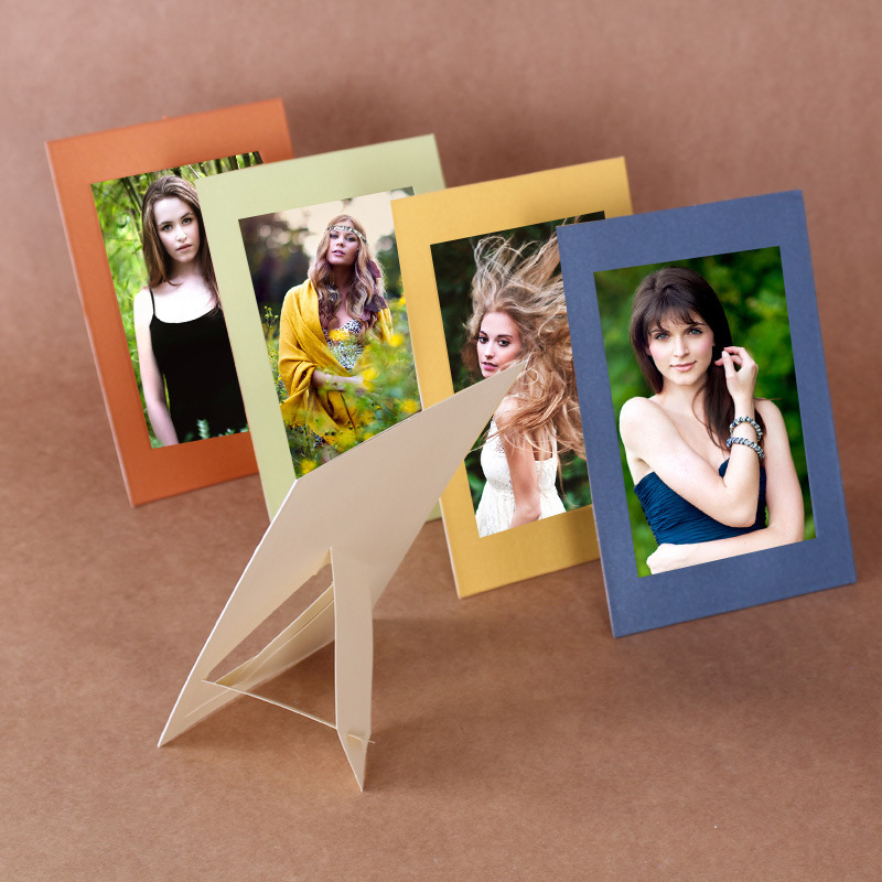 10 pcs/lot 5 Inch DIY Colorfull  Paper Photo Frame For Pictures photo J&Y Art Home Decor JY-339