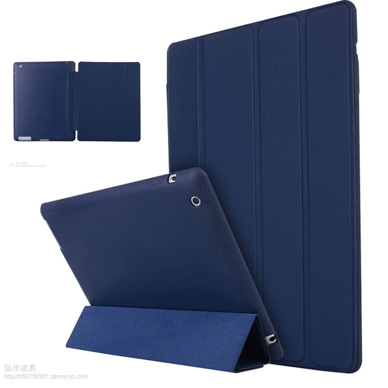 Luxury Smart Case For iPad4 ipad3 ipad2 Cover Magnetic Stand PU Leather Auto Wake up/Sleep Cover For iPad 2 3 4 Cases Funda Capa business retro leather case for ipad 2 3 4 case for ipad2 ipad3 ipad4 flip stand smart cover protective shell skin funda