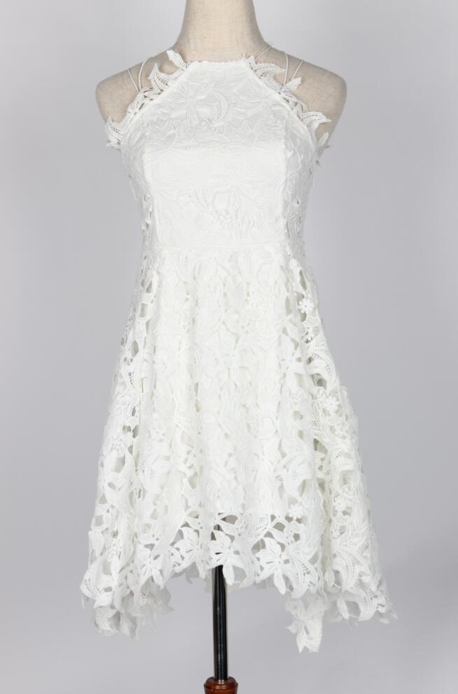 Платье элегантное, миди, сексуальные вечерние Клубные пляжные платья белое кружевное платье с открытыми плечами vestido branco летние платья 2018