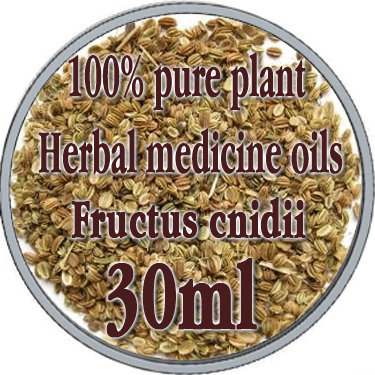 100% pure plant Herbal medicine oils FRUCTUS CNIDII herbal oil 30ml Essential oils traditional Chinese medicine oil 100% pure plant herbal medicine oils fructus cnidii herbal oil 100ml essential oils traditional chinese medicine oil
