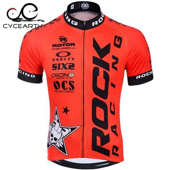 Prix pour 2016 Rock Racing Cyclisme Vêtements Court Maillot À Séchage Rapide Ropa Ciclismo Vélo Vélo Usure Respirant Vélo Jersey