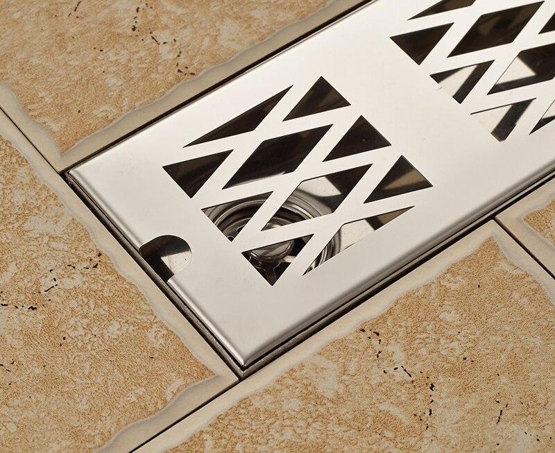 Badkamer Afvoer Rooster : Chrome cm floor afdruiprek snelle aftappen badkamer douche