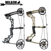 KAIMEI Archery 40-60lbs Compound Bow Steel Ball Dual Purpose Bow IBO 310FPS 80% Labor Saving Ratio Outdoor Shooting Accessories archery compound bow fully adjustable 40 70lbs 45 75lbs 55 85lbs dual cam compound bow ibo 350fps outdoor shooting accessories