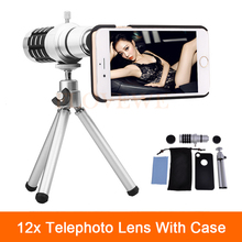 Promo offer 12x Zoom Optical Telescope Telephoto Lens For Samsung Galaxy Note 2 3 4 5 Smartphone Cases Phone Lenses Kit With Clips Tripod