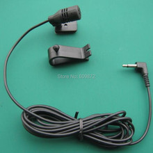 Linhuipad Free Shipping 2.5mm mono Microphone Mic 2.5mm For Car Vehicle Stereo Radio GPS DVD Bluetooth Enabled