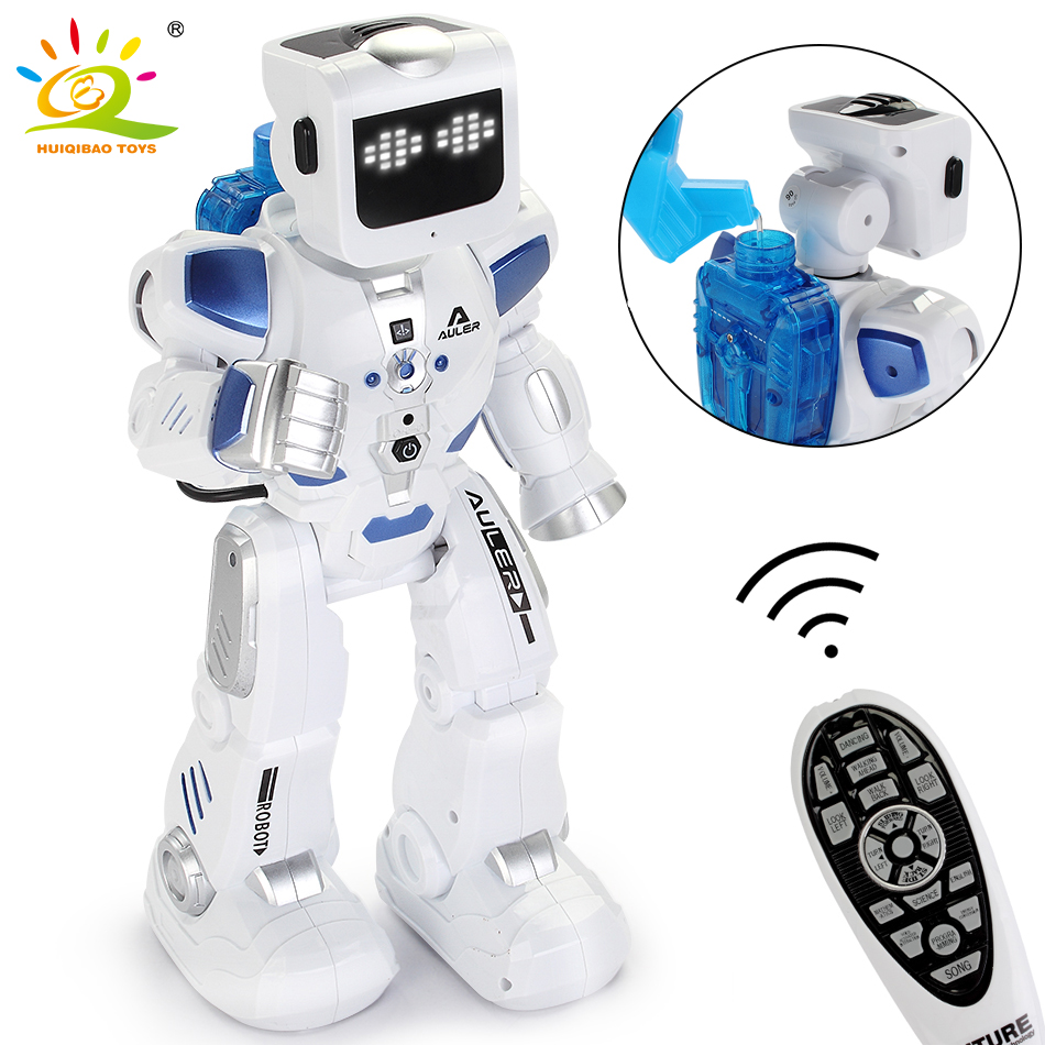 Water And Electricity Driving RC Robotica Intelligent Dance Sing Teleoperator Movement Programming Remote Control Robot Toys