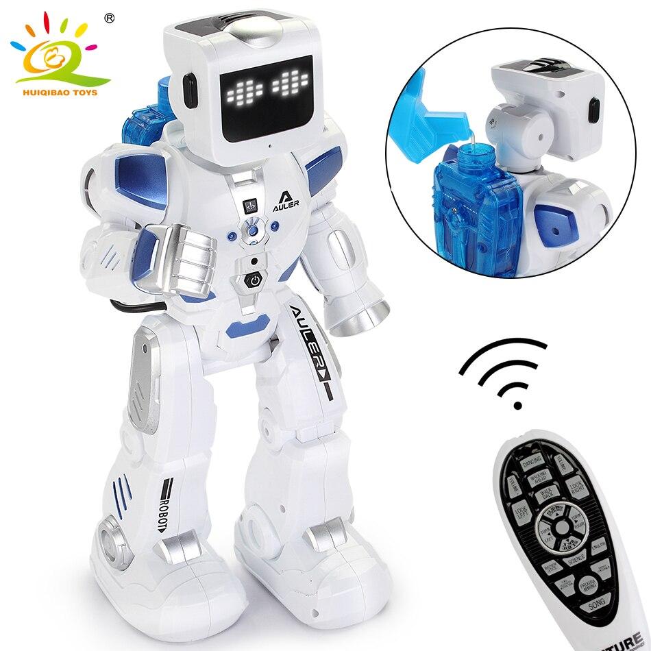Eau et électricité conduite RC Robotica danse intelligente chanter téléopérateur mouvement programmation télécommande Robot jouets enfant