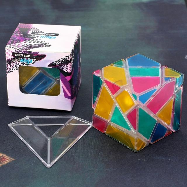 2016 Más Reciente Nanja Fantasma Cubo Mágico 3x3 Puzzle IQ Cerebro Cubos Magicos Rompecabezas Juguetes Educativos Juguetes Especiales