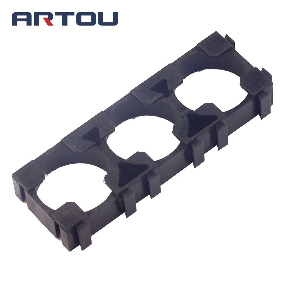 3 Section 18650 Lithium Battery Bracket Electric Vehicle Battery Bracket Fixed Combination Bracket 3 Lithium Battery Bracket