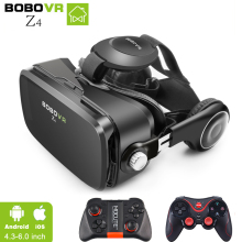 цены на 100% Original Xiaozhai BOBOVR Z4 3D Virtual Reality 3D VR Glasses Private Theater for 3.5 - 6.0 inches Mobile Phones Immersive  в интернет-магазинах