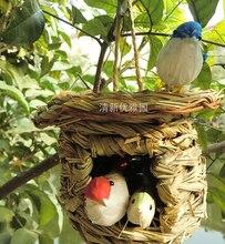 Gaiola jaula pássaro gaiola jardim decoração pássaro alimentador