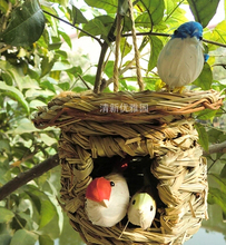 กรงJaula Bird Cageตกแต่งสวนBird Feeder
