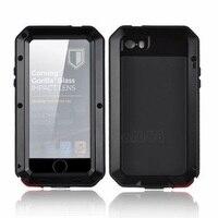 For Iphone SE 4 4S 5 5C 5S Casedoom Armor Dirt Shock Waterproof Shockproof Metal Aluminum