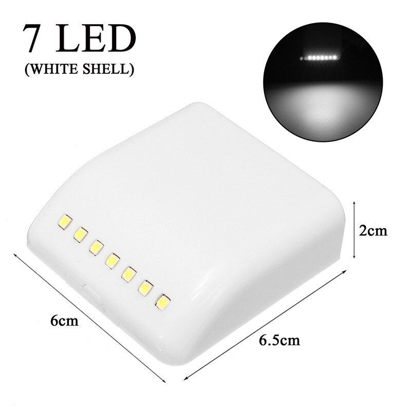 Cabinet Motion Sensor Night Light Battery Power Smart LED Night Light Sensor Wardrobe Drawer Bedroom