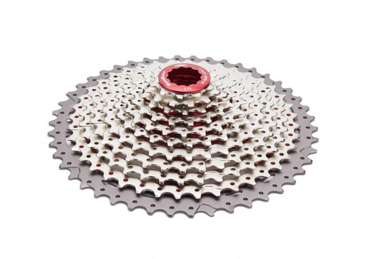 все цены на SunRace 11-46T 11 Speed Bicycle Freewheel Mountain Bicycle Cassette Tool MTB Flywheel Bike Parts 480g онлайн