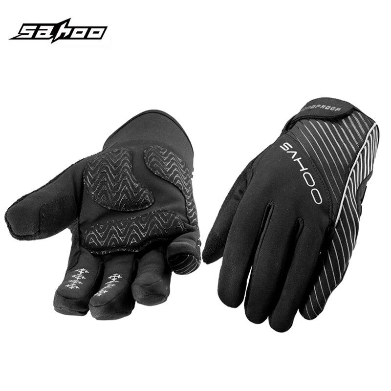 Winter Bicycle Full Finger Men Women Bicycle Bike Cycling font b Gloves b font GEL Luvas
