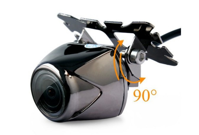 NEW Factory New Metal 170 Degree Wide View HD Car Rear View Reversing Camera Park Camera mirror Support Parking line