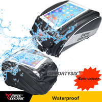 New Brand Big Touch Screen Waterproof Motorcycle Tank Bag Multifunction Rider Backpack Carbon Fiber Oil Fuel Bag Rear Tail Box